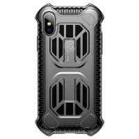 Чехол Baseus Cold front cooling Case для iPhone Xs Max Transparent