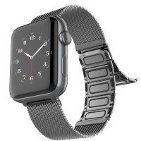 Браслет Raptic Classic Plus для Apple Watch 38/40 Серебро