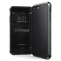 Чехол X-Doria Defense Lux для iPhone 7/8 Plus Black Leather