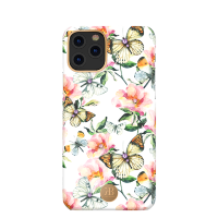 Чехол Kingxbar Blossom для iPhone 11 Pro Max Peach Flower