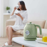 Чайник Xiaomi Qcooker Retro Electric Kettle 1.7L Зелёный