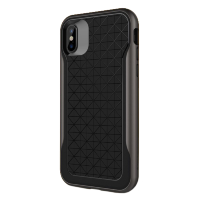 Чехол Caseology Apex для iPhone X Black/Warm Gray